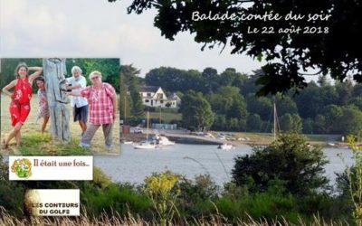 Balade contée à Vannes le 22 août 2018